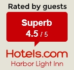 Rated 4.5/5 by guests - Hotels.com